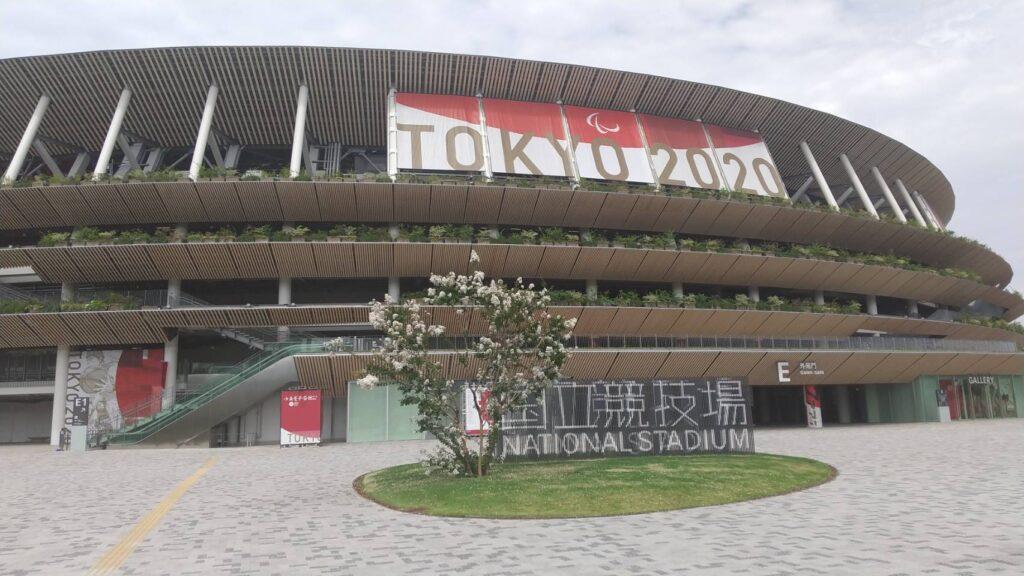 【東京2020】「スラダン」井上先生の絵も!オリンピックスタジアム外観
